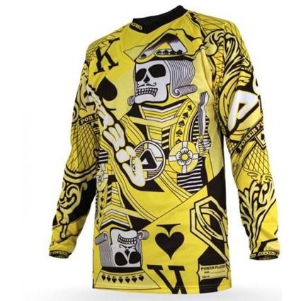 Yellow jersey cross Acerbis Poker