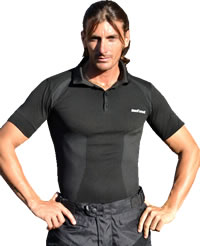 Befast Gant carbon short sleeved polo