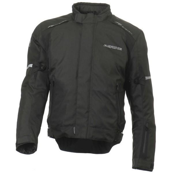 Approved waterproof motorcycle jacket Bering Dallas Black