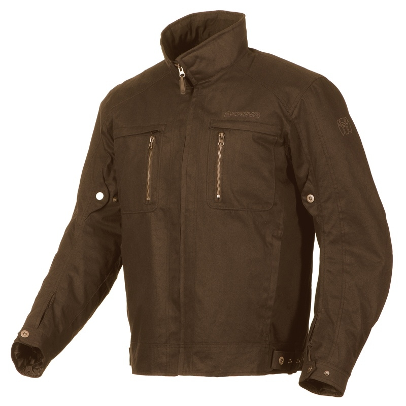 Approved motorcycle jacket Bering Gizmo Brown