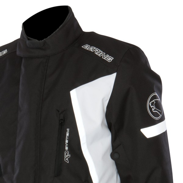 Approved Bering Katana jacket waterproof 3-layer Black White
