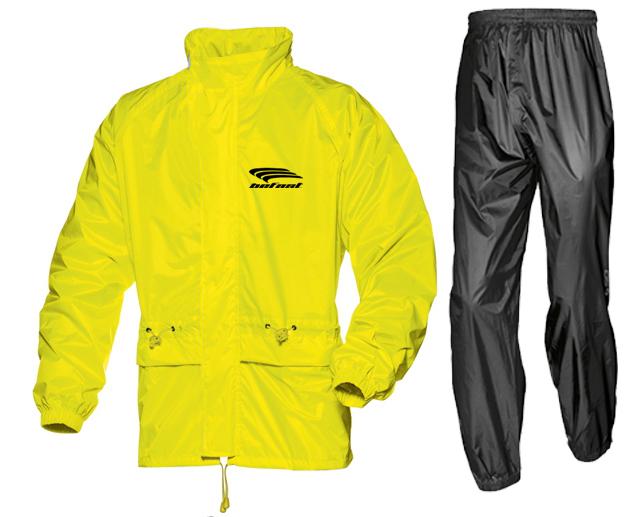 Befast PR-Dry divisible rain suit Fluo