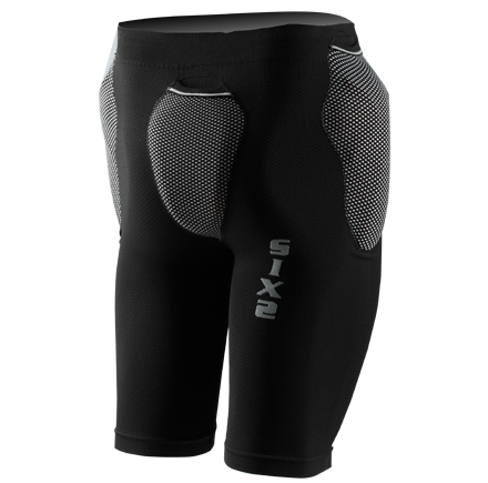 Sixs shorts with protections predisposition