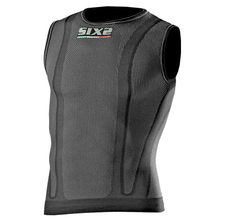Sleeveless Sixs with predisposition Carbon back protector