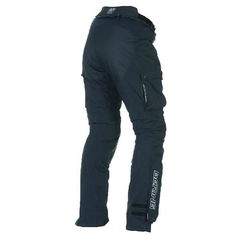 Approved motorcycle pants Bering Odyssee 3 layers Stretched Blac