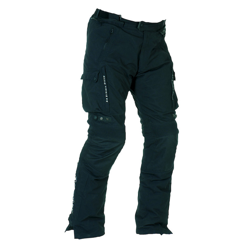 Approved Motorcycle trousers Bering Odyssee 3-layer Black