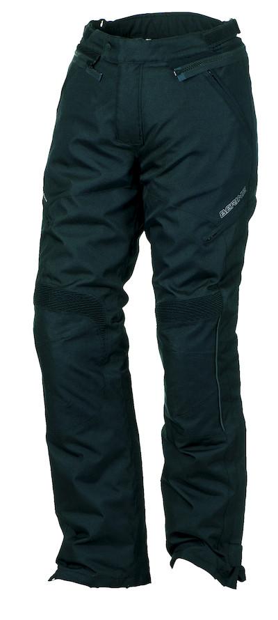 Pantaloni moto impermeabili Omologati Bering Holly Nero Accorcia