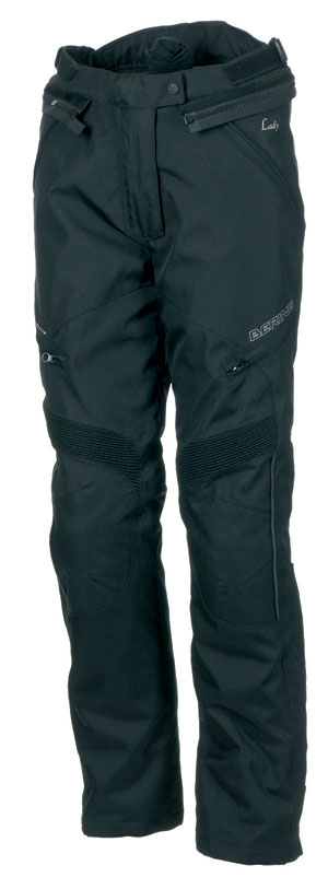 Motorcycle trousers woman Approved Bering Holly Black Shortened