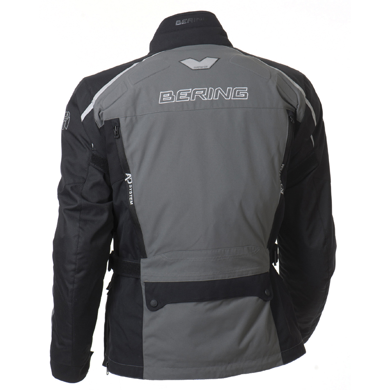 Approved motorcycle jacket Bering Odyssee 3 layers Black Anthrac