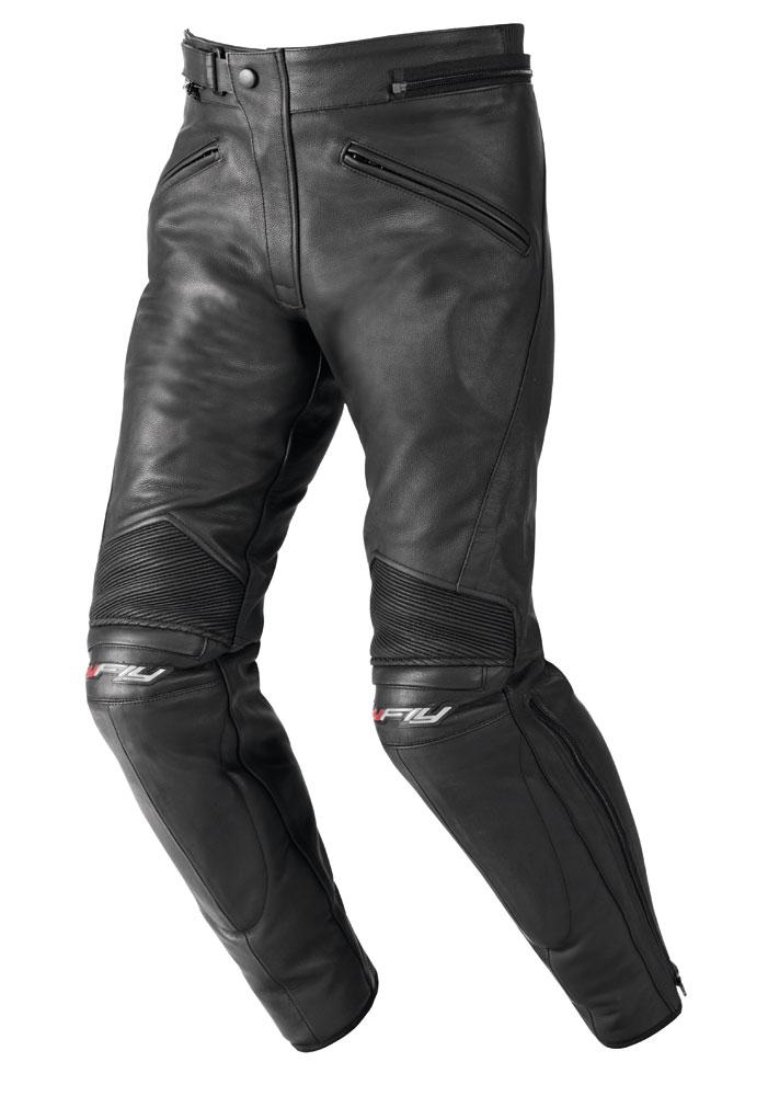 Pantaloni moto pelle Hy Fly Stardom Nero