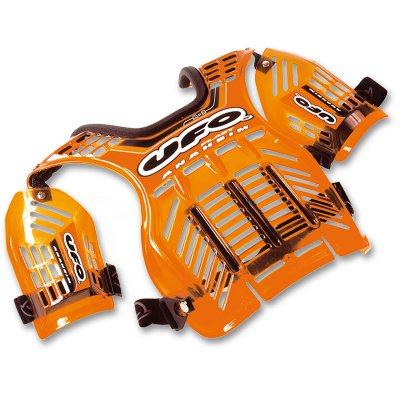 Harness cross Ufo Anaheim Transparent Orange