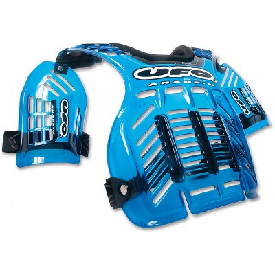 Harness cross Ufo Anaheim Transparent Blue
