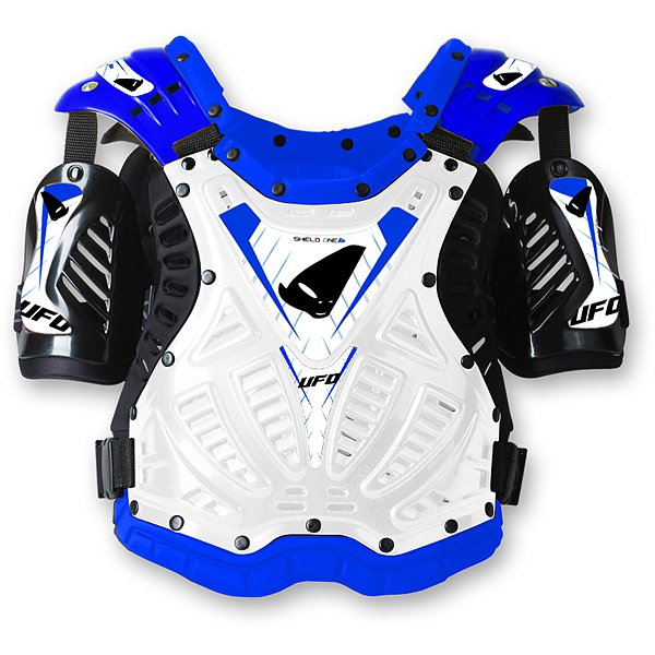 Ufo Plast Shield One chest protection Blue White
