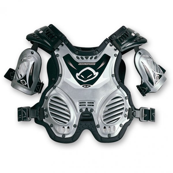 Ufo Plast Shockwave 8-12 years chest protection Silver