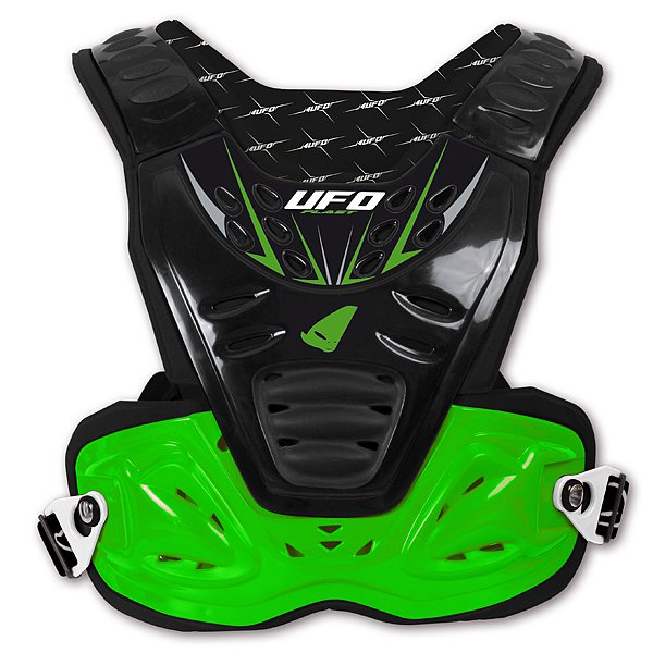 Ufo Plast Reactor 2 Evolution chest protection Green Black