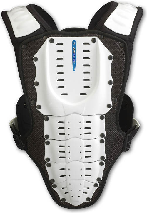 Ufo Plast Kids Valkyrie chest protector 2283 long version white