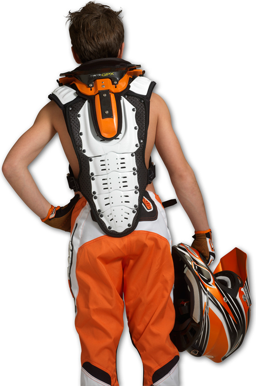 Ufo Plast Kids Valkyrie chest protector 2283 long version orang