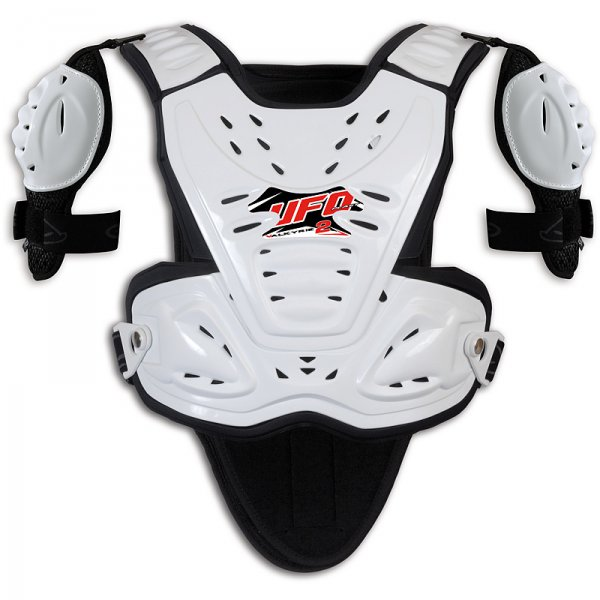 Ufo Plast Valkyrie 2 Chest protector with shoulders Short white