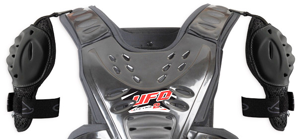 Pair of shoulder replacement UFO Grey