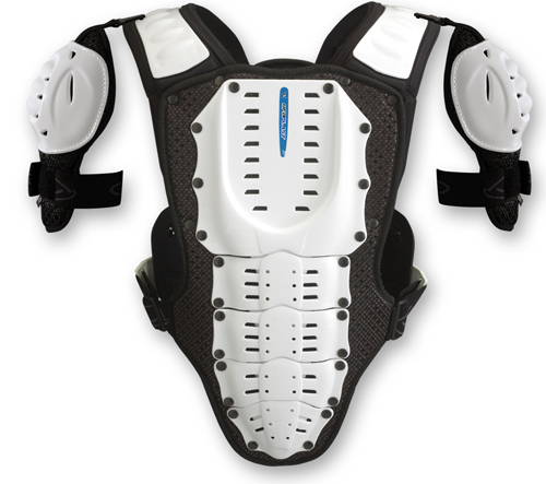 Ufo Plast Kids Valkyrie 2 chest protector vers. long white