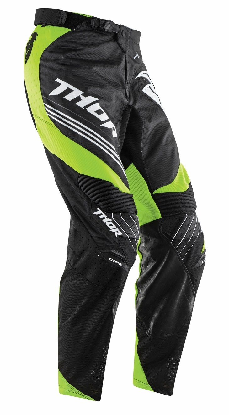 Thor Core Bend pants black green fluo