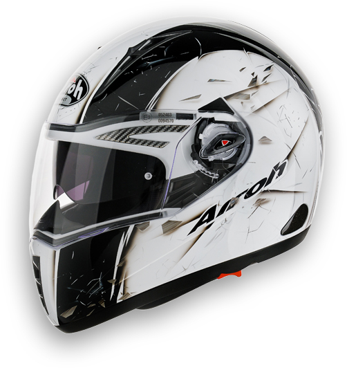 Airoh Pit One XR Fast full face helmet yellow