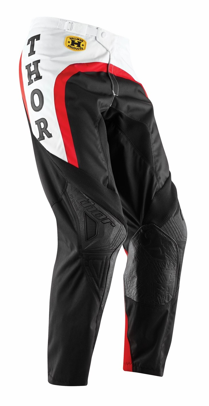 Pantaloni cross Thor Phase Pro-GP rosso neri