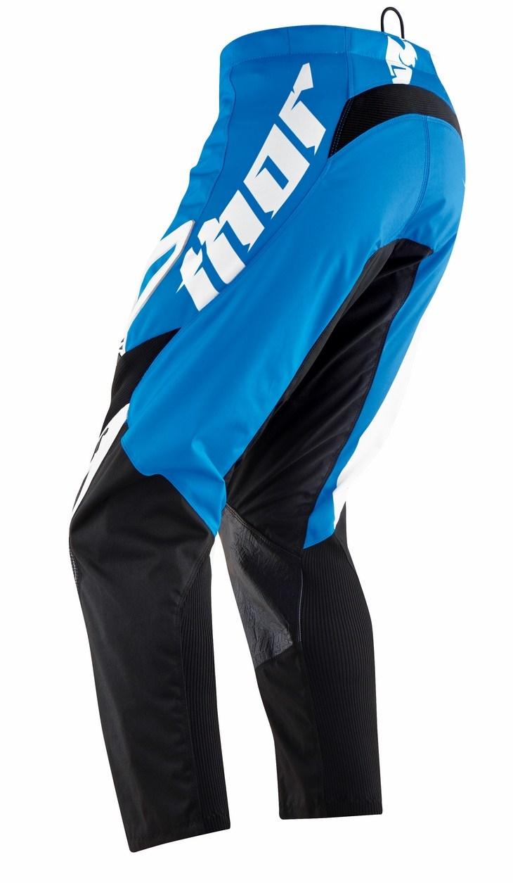 Pantaloni cross Thor Phase Tilt blu
