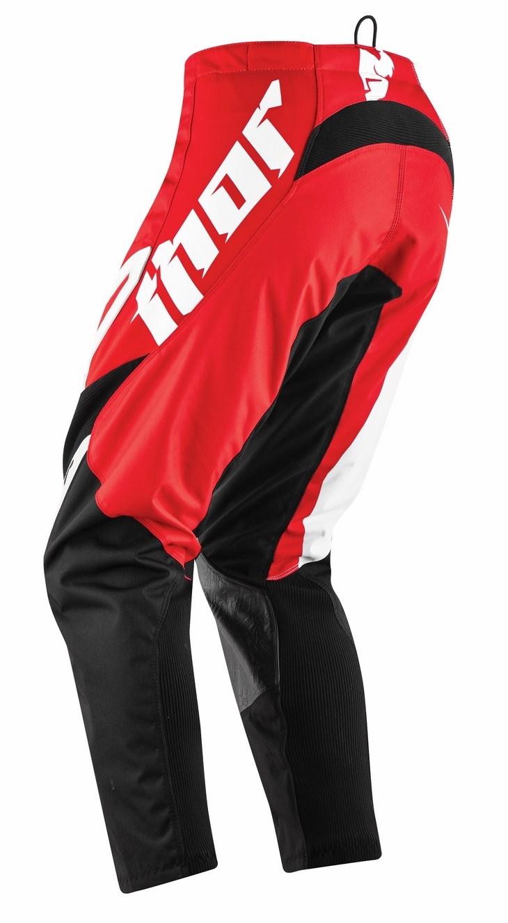 Pantaloni cross Thor Phase Tilt rosso
