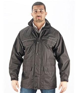 Oj Top waterproof jacket black