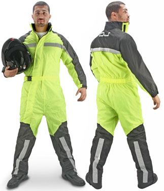 OJ Total Fluo waterproof overall