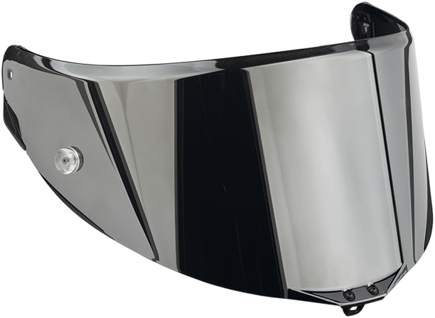 Agv Race 2 visor anti-scratch iridium silver