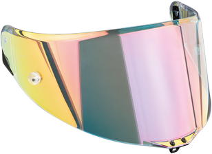Visiera Race 2  antigraffio rainbow per caschi Agv