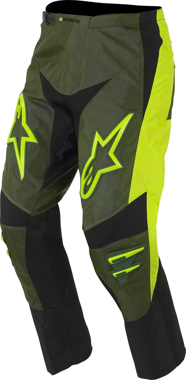 Pantaloni moto cross Alpinestars Racer 372158 verde