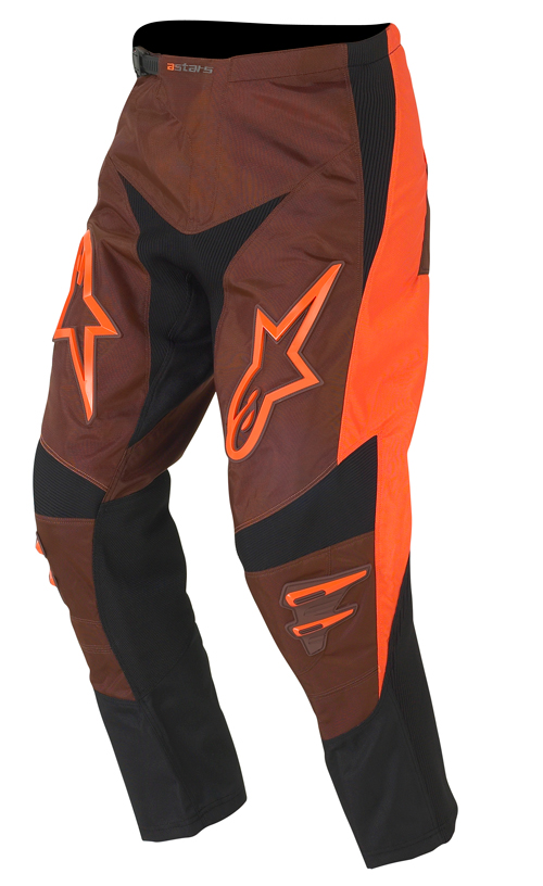 Pantaloni moto cross Alpinestars Racer 372158 arancio