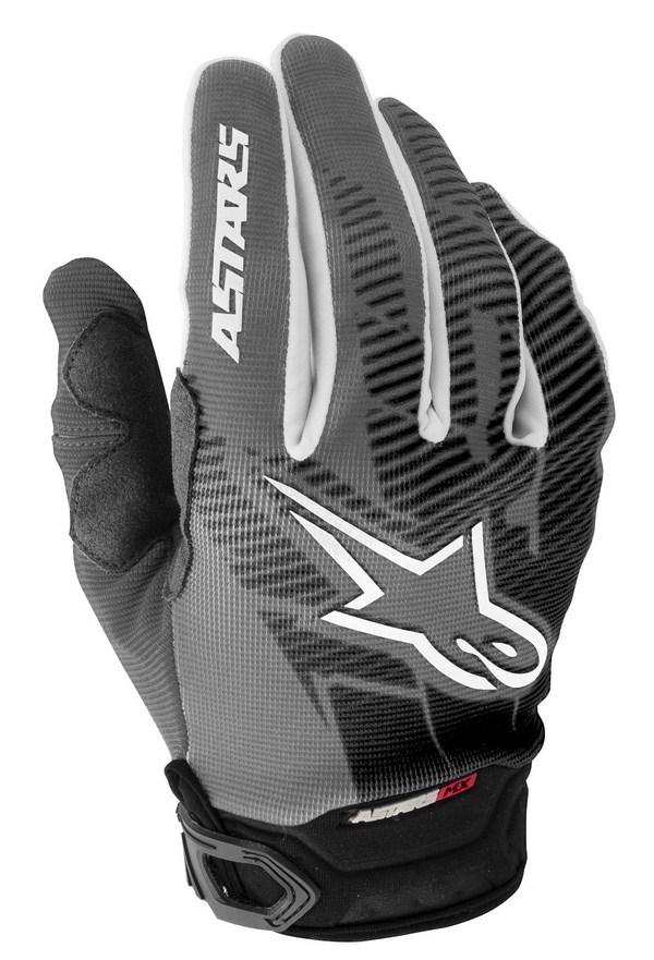 Alpinestars Racer off-road gloves grey black