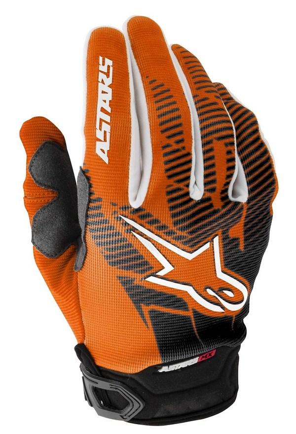 Alpinestars Racer Youth gloves orange black