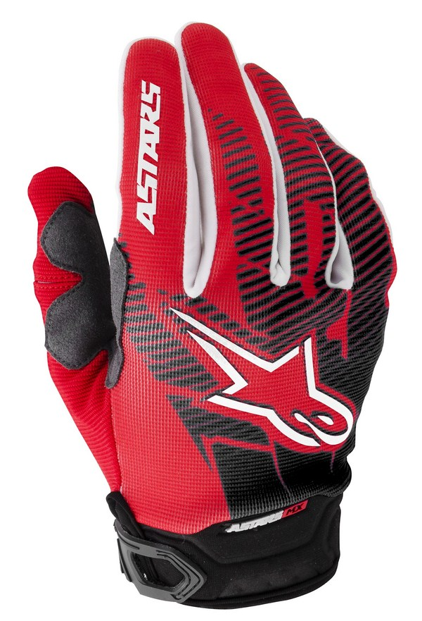 Alpinestars Racer Youth gloves red black
