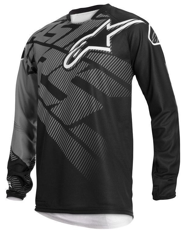 Alpinestars Racer Youth jersey grey black