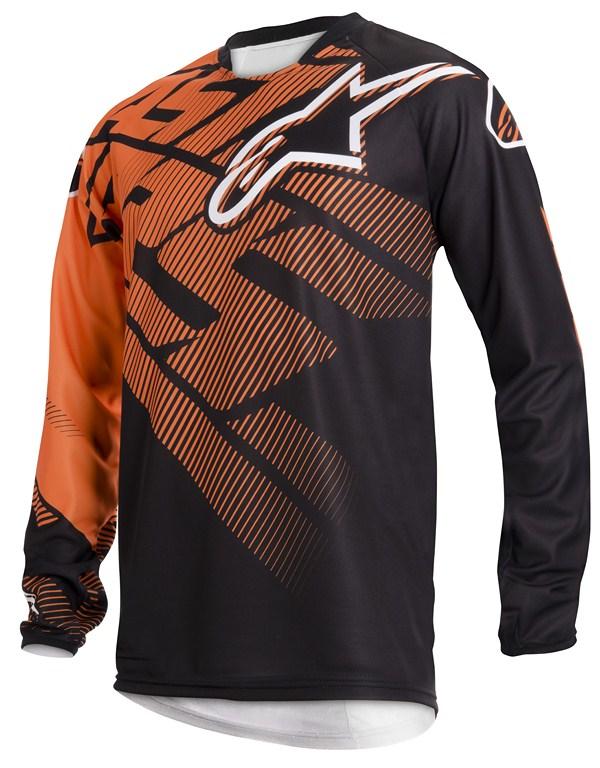 Alpinestars Racer Youth jersey orange black