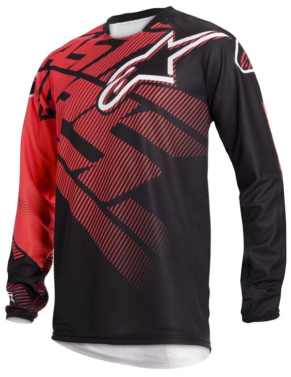 Alpinestars Racer off-road jersey red black