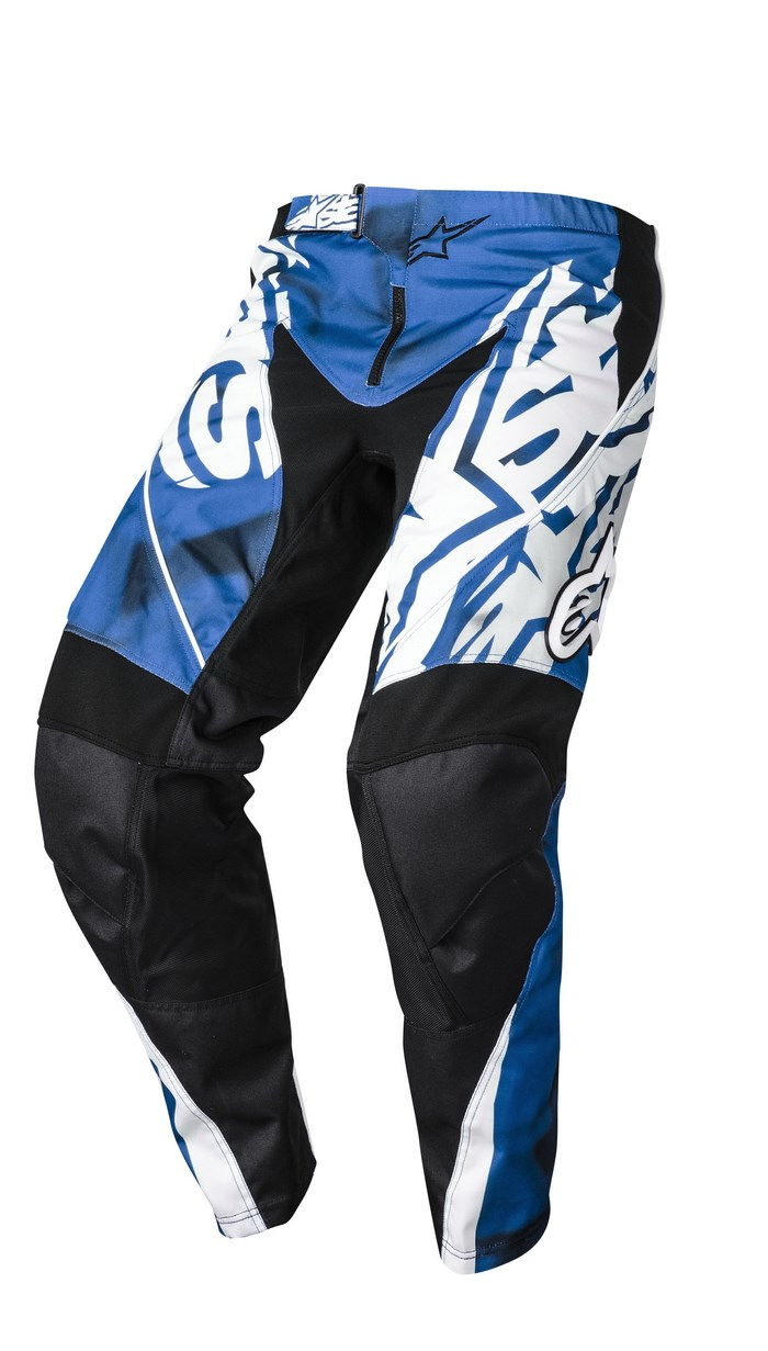 Alpinestars Racer 2014 offroad pants blue black