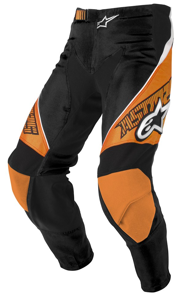 Alpinestars Racer Youth pants orange black