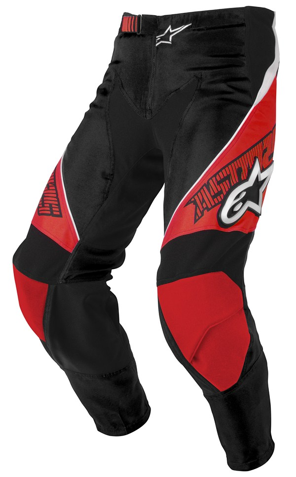Alpinestars Racer off-road pants red black