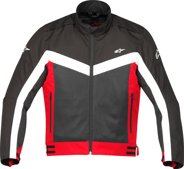 Alpinestars RADON AIR motorcycle jacket black-red
