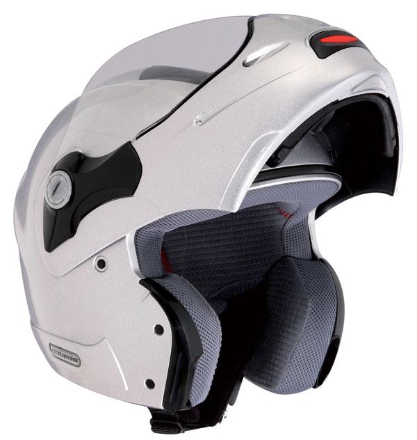 CABERG Rhynot Junior helmet silver