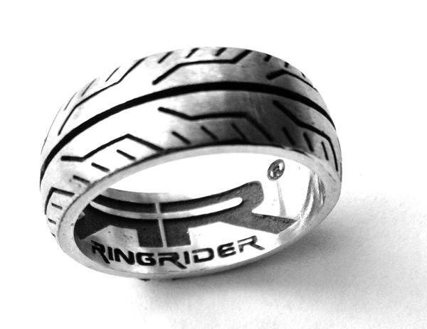 RingRider pneumatic tires ring White