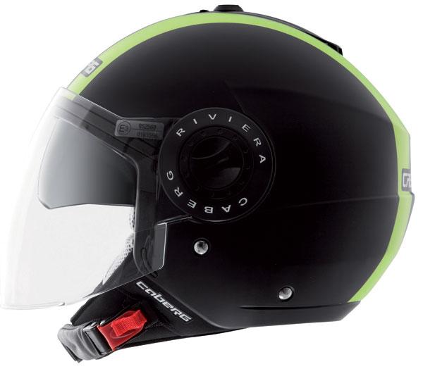 Caberg Riviera V2+ Legend jet helmet Hi-Vizion