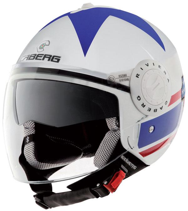 Caberg Riviera V2+ jet helmet America