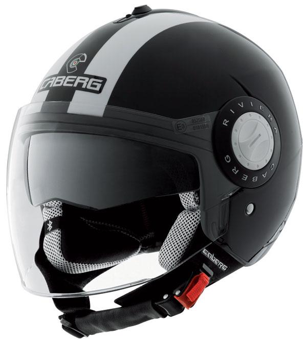 Caberg Riviera V2+ Legend Black White